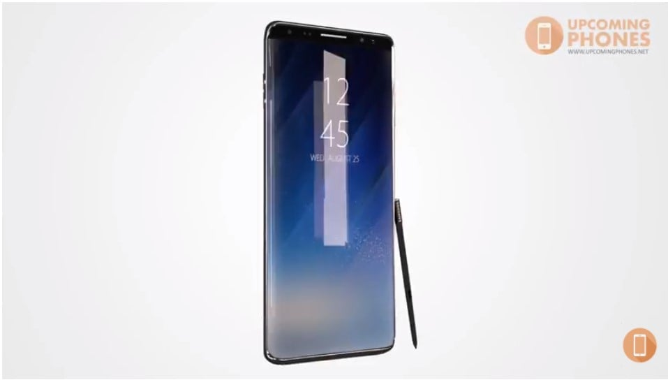 Galaxy Note 9 In-display fingerprint sensor