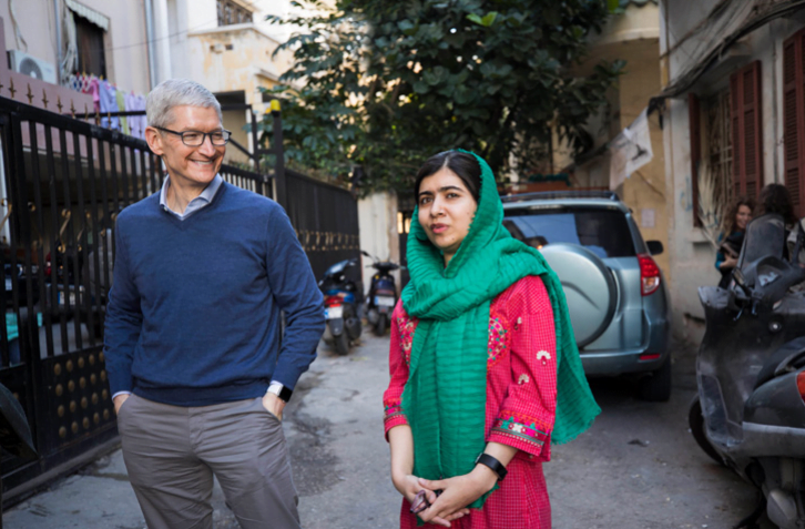 Apple Malala Fund Partnership