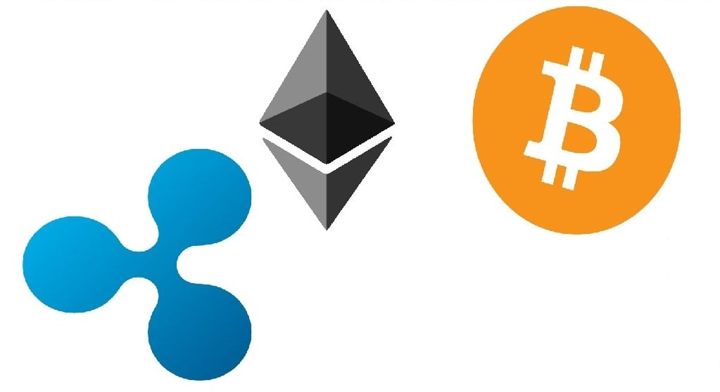 Price Of Bitcoin, Ethereum, Ripple