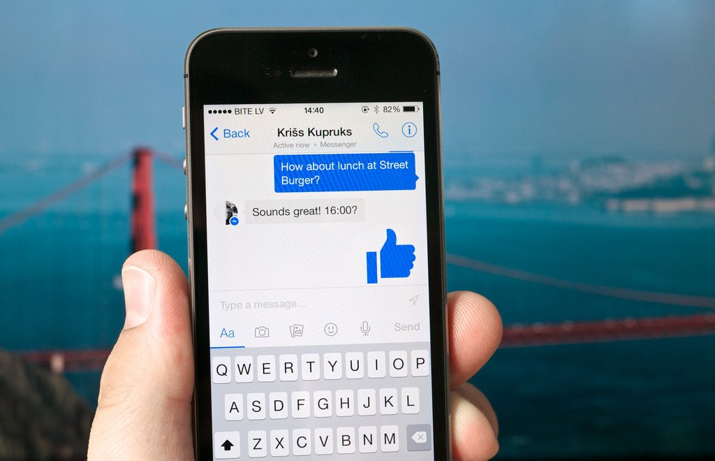 Users Report Facebook Messenger Keyboard Bug On iOS Devices