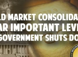 Gold Market Consolidates Near Important Levels As Government Shuts Down