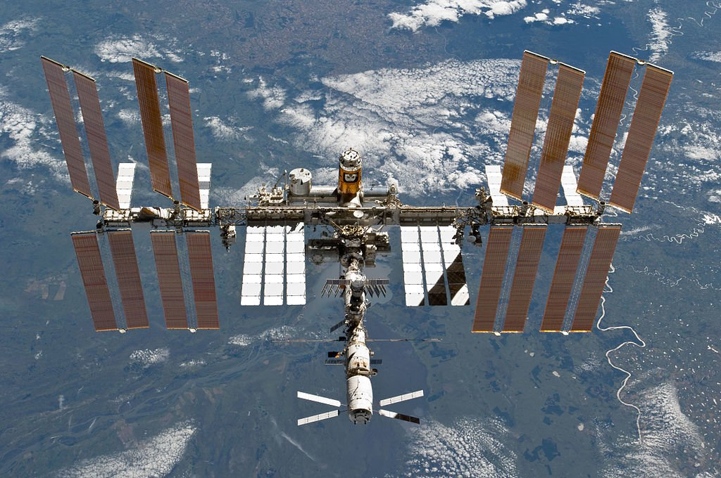 International Space Station US Astronaut
