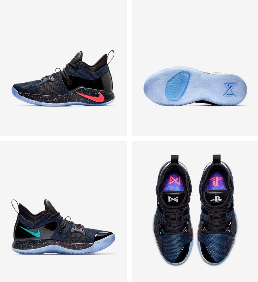 31d9b98d0f38 Nike Releases PG2 PlayStation Shoes