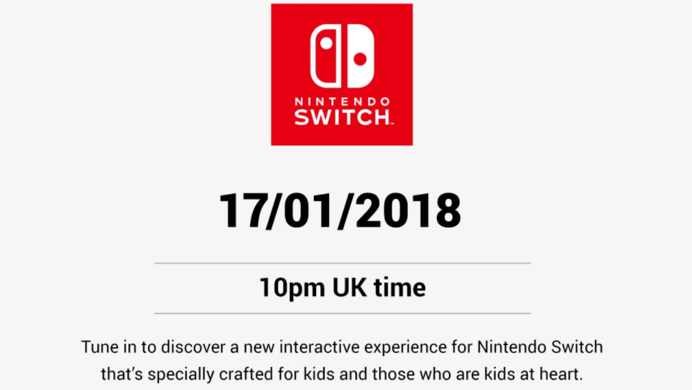Nintendo Switch Interactive Experience
