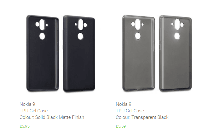 Nokia 9 Case Renders Official
