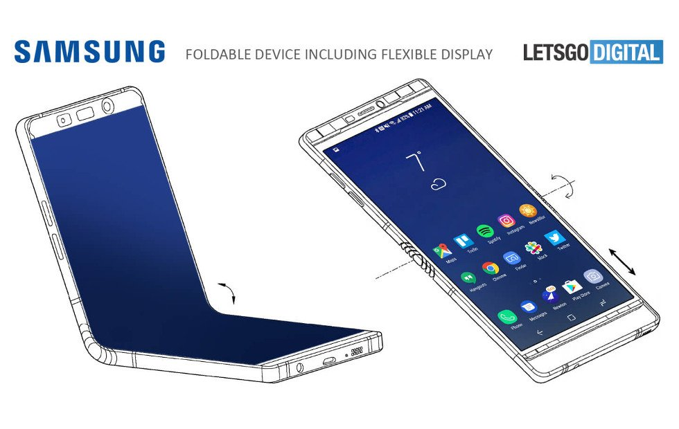foldable Galaxy X