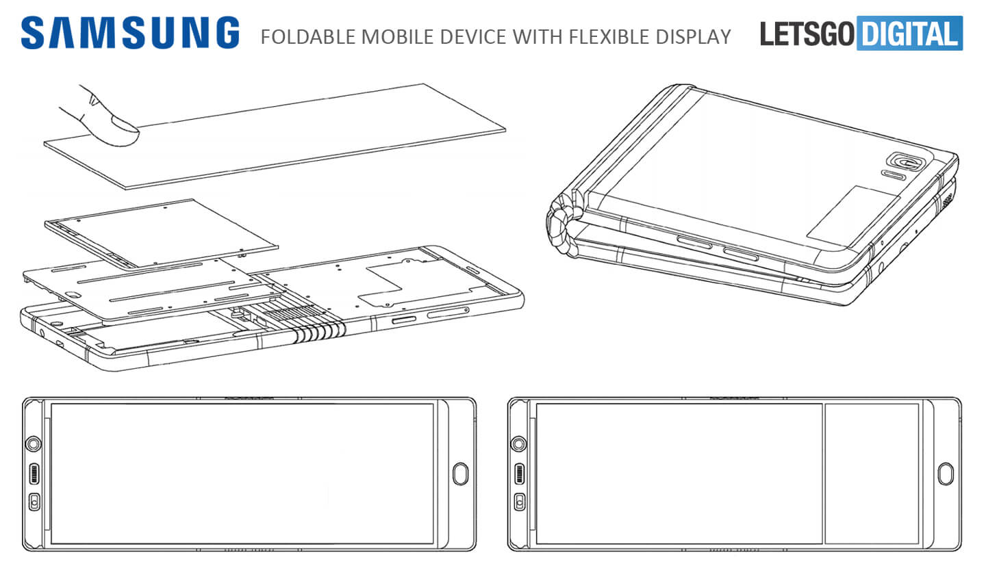 Samsung Foldable Galaxy X Screen Launch Date