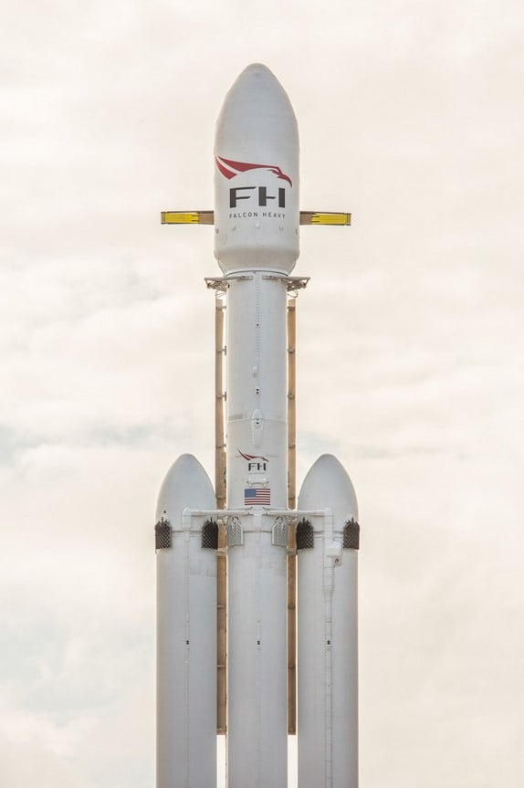 SpaceX Falcon Heavy rocket