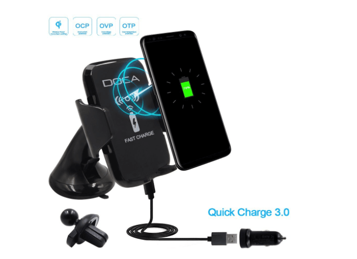 iPhone X Wireless Car Charger Doca Qi Charger Apple
