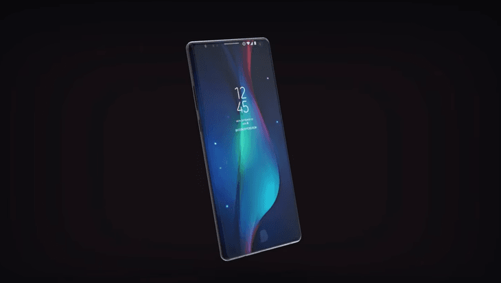 Samsung Galaxy Note 9 Concept Bixby 2.0