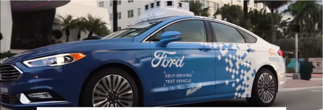 ford autonomous cars miami