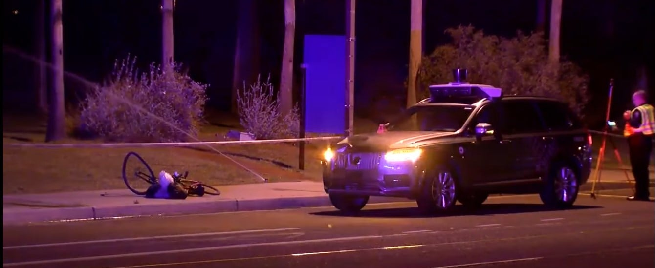 Arizona Uber Crash Uber accident Self-driving car