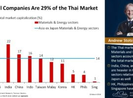 Cyclical Companies Are 29% Of The Thai Market
