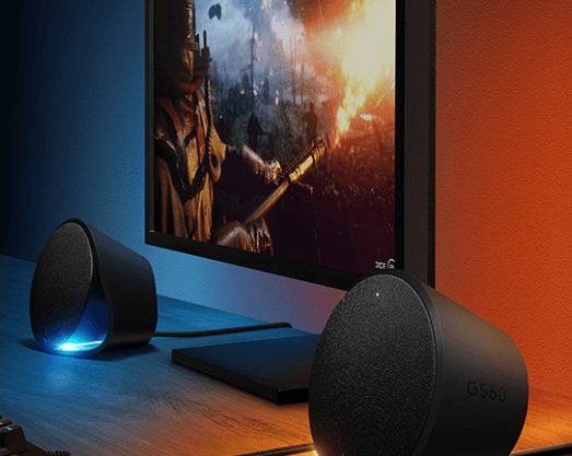 Logitech Reveals Gaming Speakers With Sync Lights
