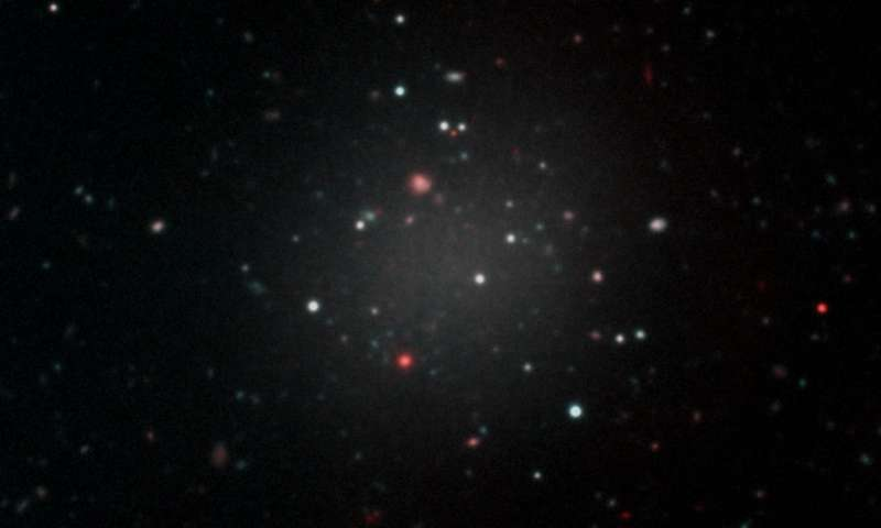 Galaxy Without Dark Matter