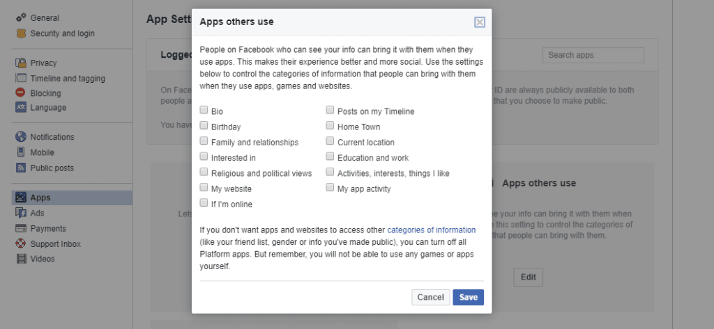How To Delete Facebook Data