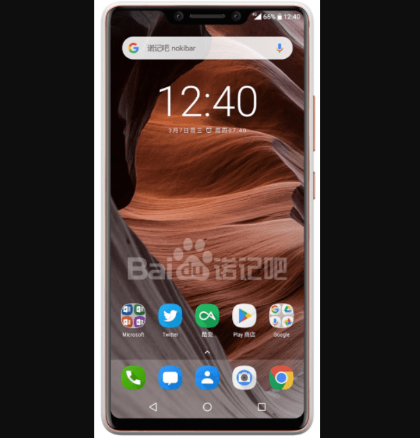 Nokia 9 Notch
