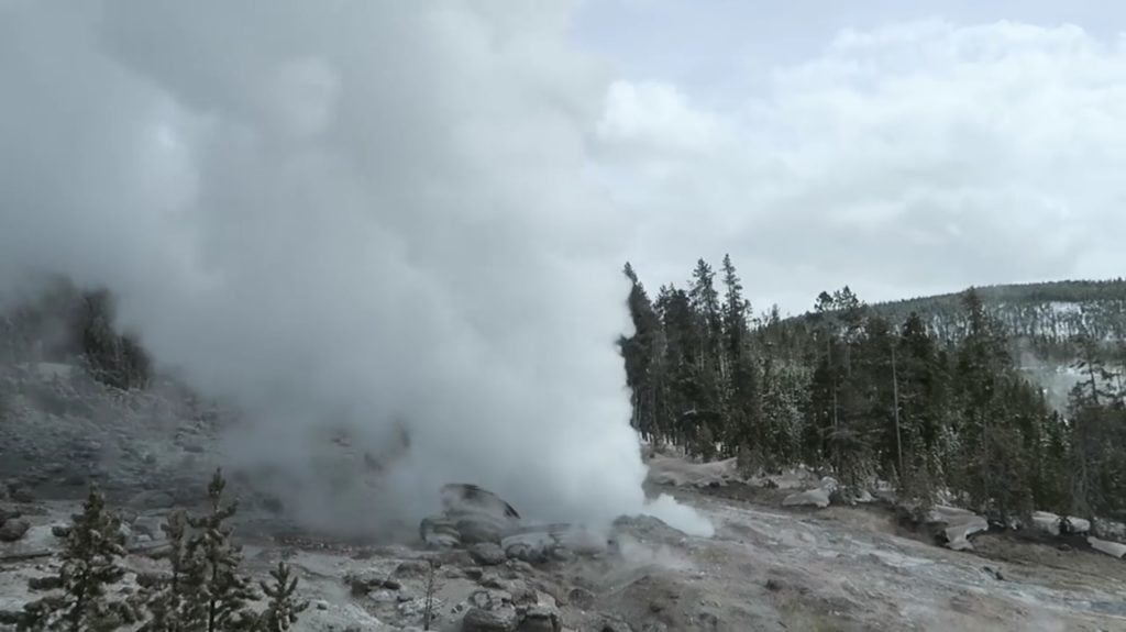 yellowstone eruptions