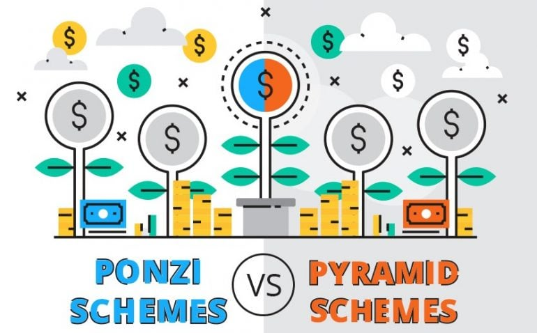 Ponzi Schemes Vs Pyramid Schemes
