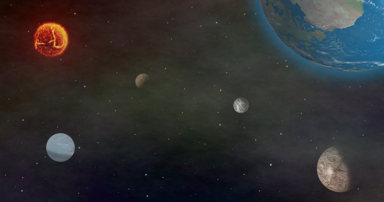 Solar System Water On The Hot Planet