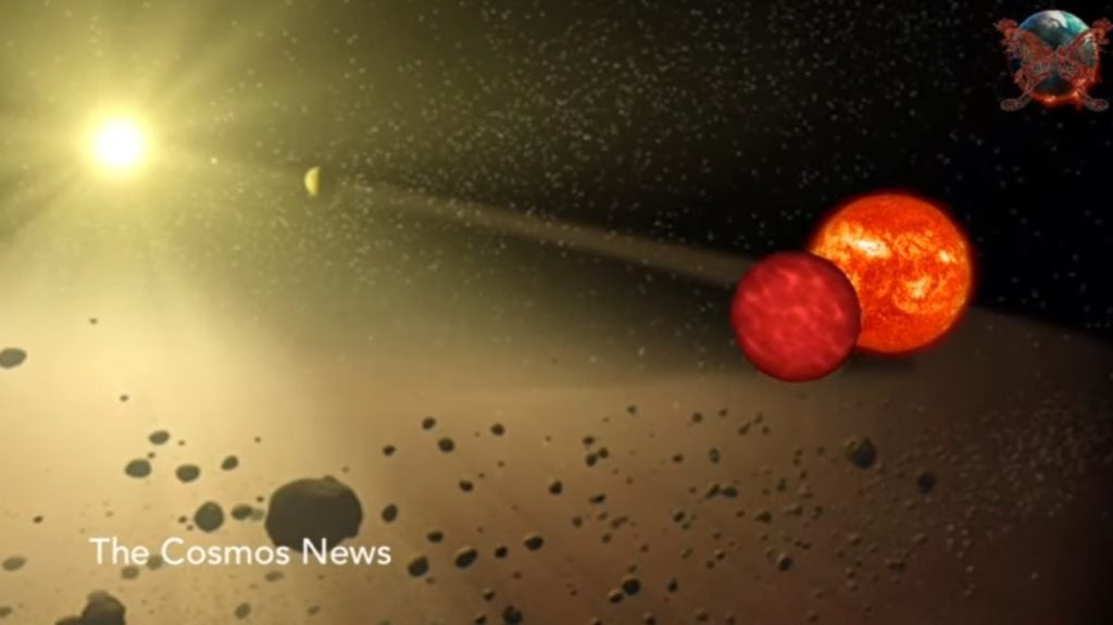 Our Solar System 70,000 Years Ago