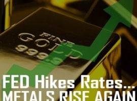 Fed Hikes Rates…Metals Rise Again