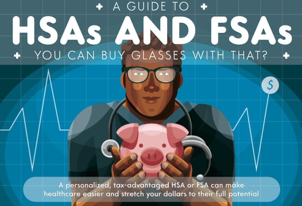 A Guide To HSA And FSA Infographic