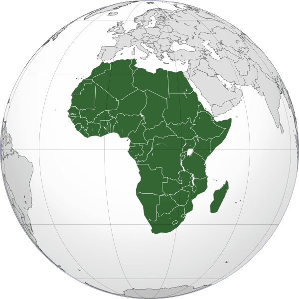 Africa Will Break Up Two Continents