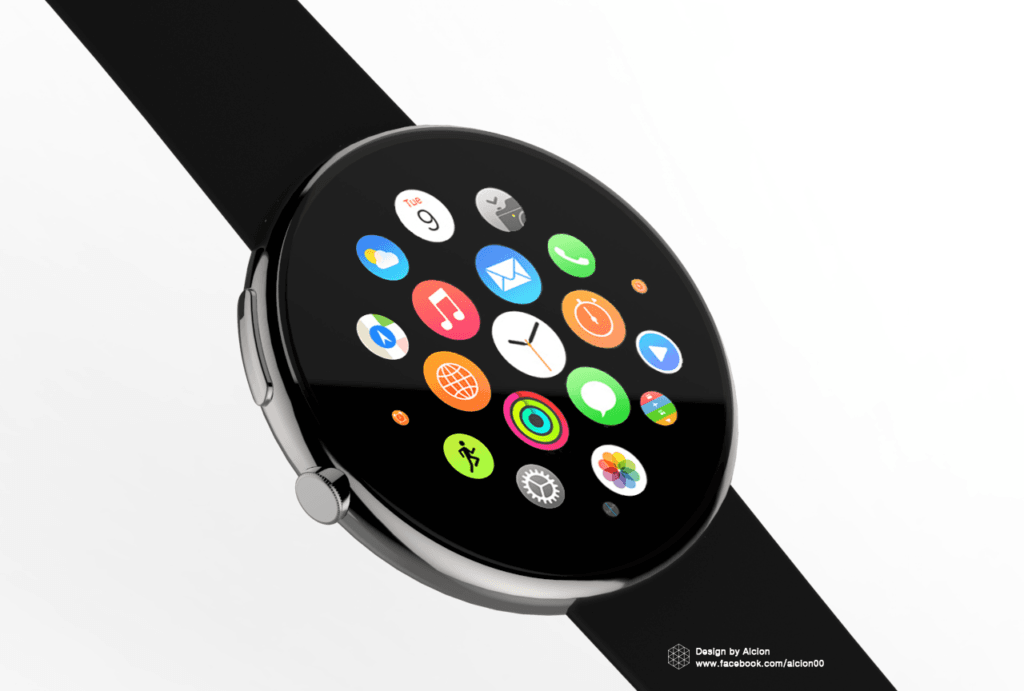 Apple Watch Series 4 Round Face 1