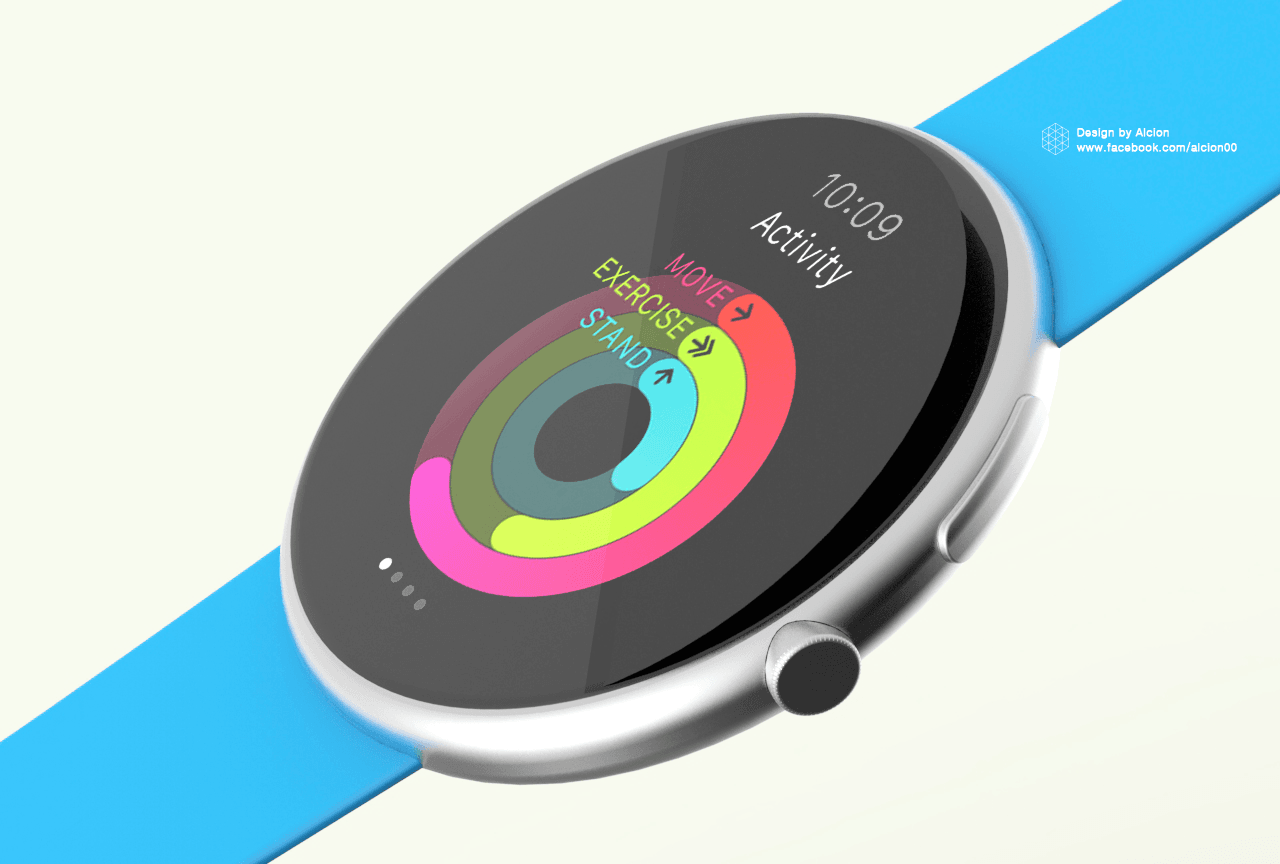 Apple Watch Series 4 Round Face