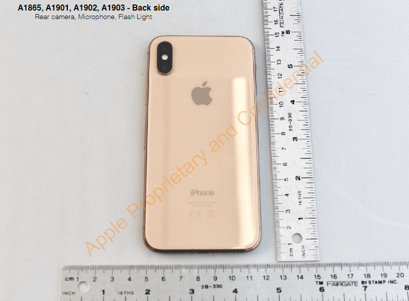 Gold iPhone X Leak