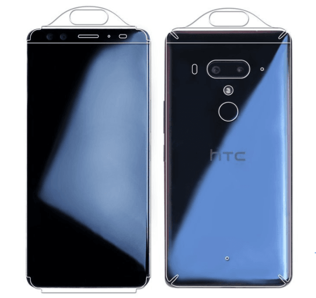 HTC U12 Screen Protectors 3