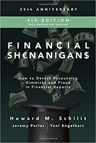 Howard Schilit Financial Shenanigans