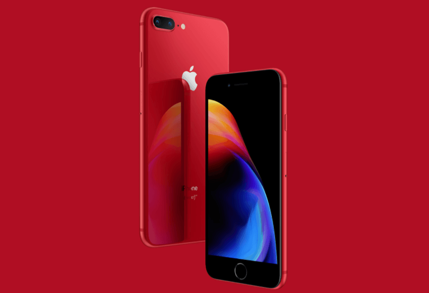 Product RED iPhone 8 Price