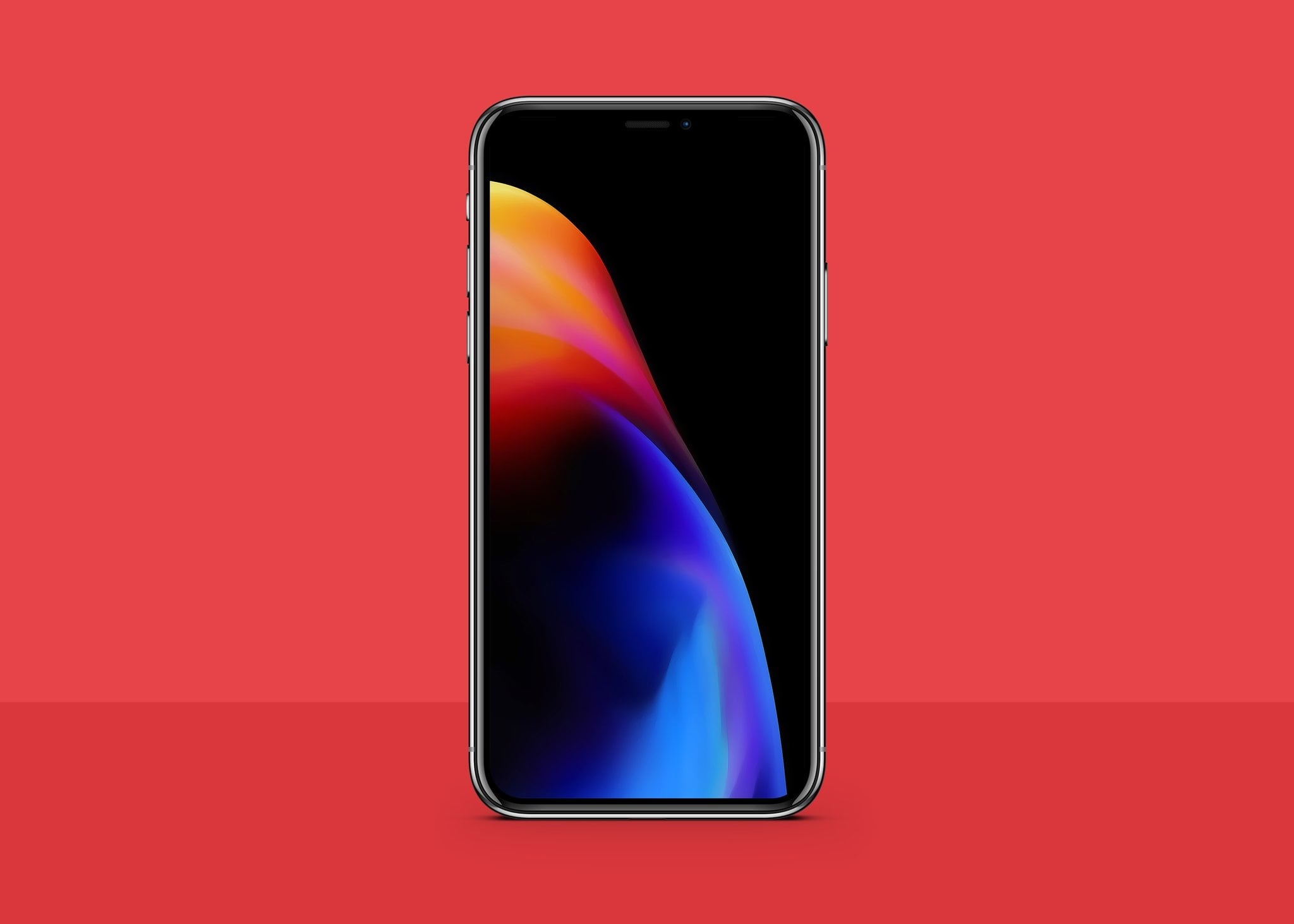 Download Red Iphone 8 Wallpaper Inspired By Product Red