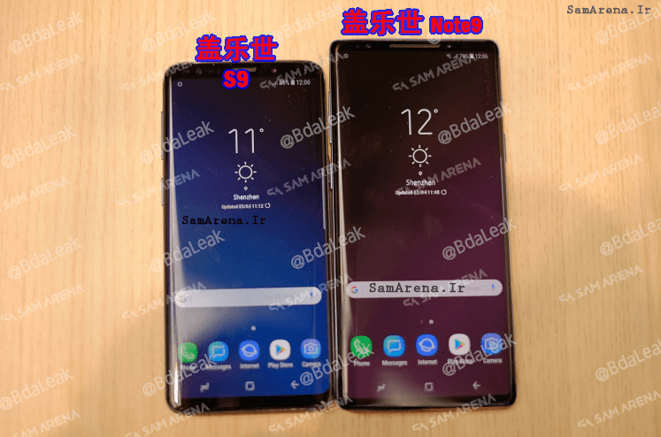 Samsung Galaxy Note 9 Images