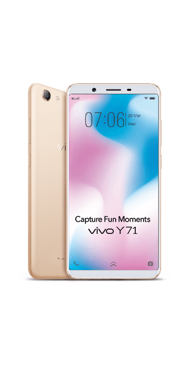 Vivo Y71 Is The Most Affordable FullViewTM Display