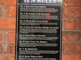 Jimmy John's & Warren Buffett's 10 Rules