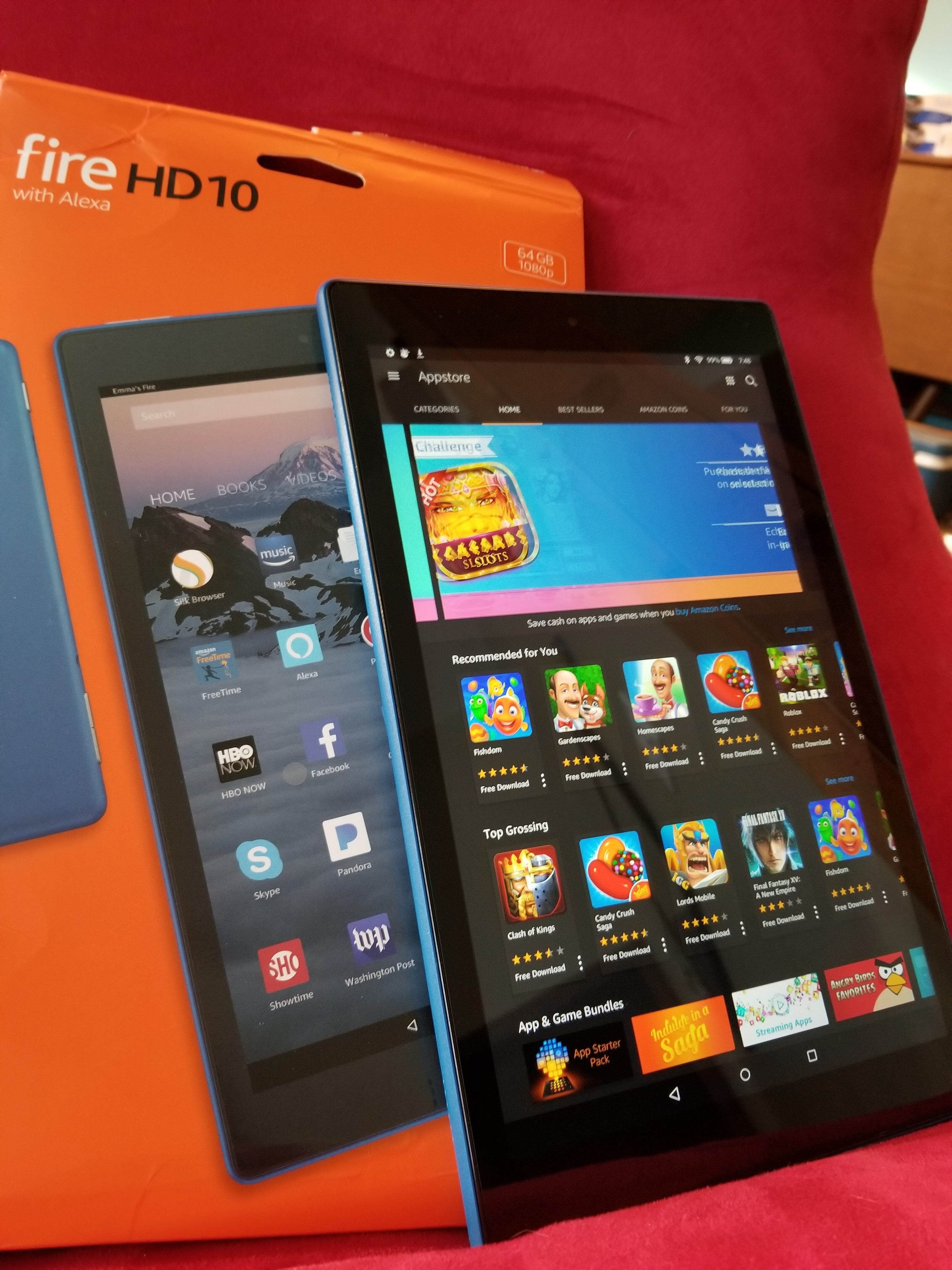 Amazon Fire HD 10 Review: Beautiful Media Tablet For Prime