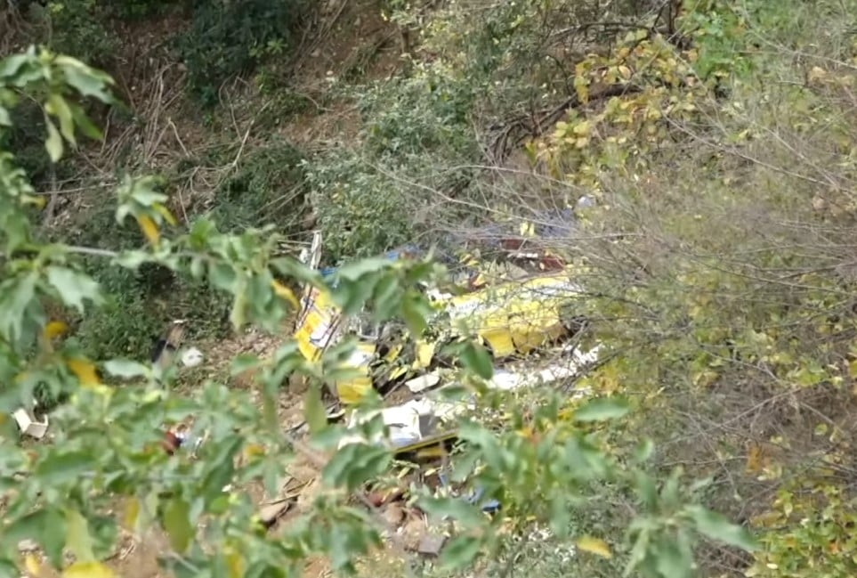 himachal bus crash