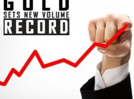 Gold Sets New Volume Record – Again