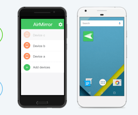 AirMirror app, Control Android Device Using iPhone