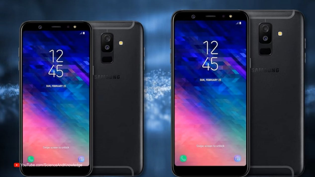 Galaxy A6 and A6 Plus
