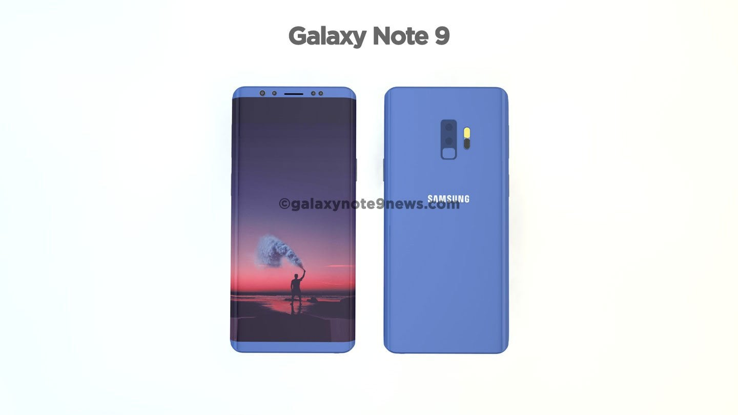 Galaxy Note 9 Concept Images