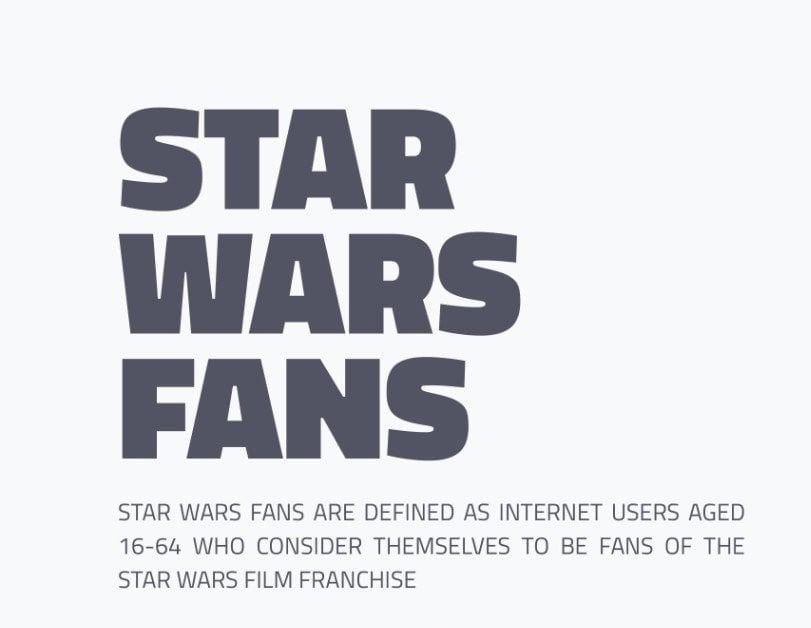Star Wars Fans Media Consumption Habits