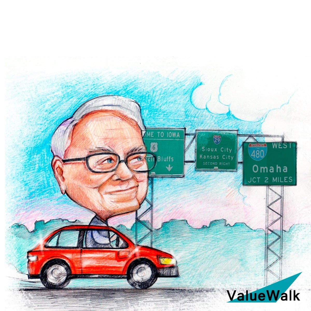 Billionaire Investor Warren Buffett Berkshire Hathaway chairman and CEO Warren Buffett interview NASDAQ:AAPL shares of apple warren buffett index funds Warren Buffett estimate of intrinsic value
