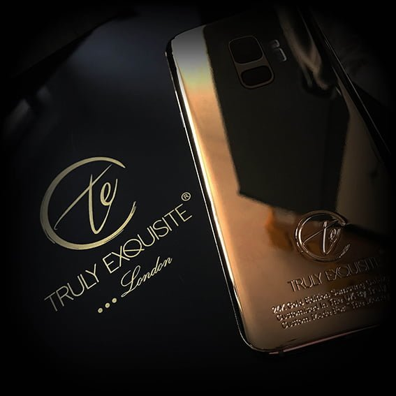24K Gold Embellished Galaxy S9