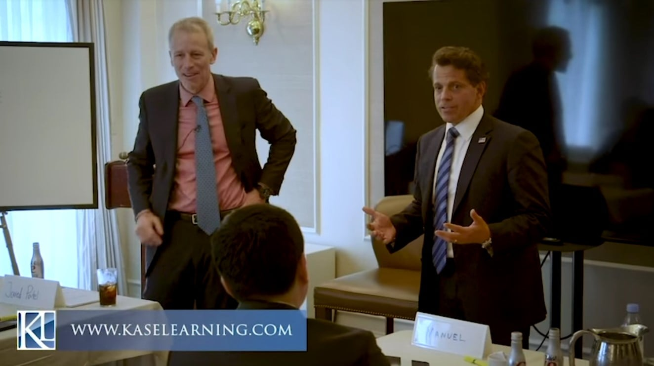 mooch Anthony Scaramucci With Whitney Tilson