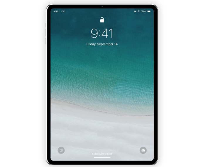Apple iPad Pro 3 Design Concept in iOS 12 Beta