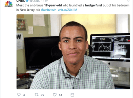 Jacob Wohl Backed Teenage Hedge Fund Launches From A NJ Bedroom; But FINRA Is Still  Awaiting The News
